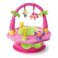 Super sedátko růžové 3v1 Deluxe SuperSeat® Island Giggles