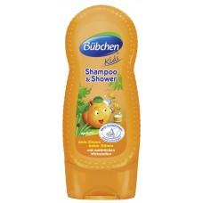 Bübchen Kids šampon a sprchový gel - meruňka (230 ml)