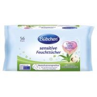 Bübchen Sensitive vlhké ubrousky рro novorozence a celou rodinu (56 ks)