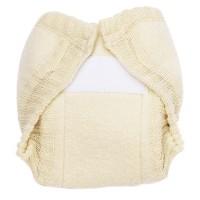 Vlněné svrchní kalhotky na suchý zip