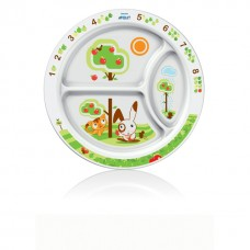 Avent table plate divided for 3 parts from 12 months