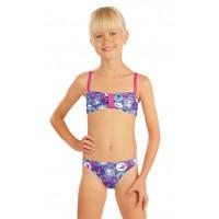 Dívčí dvoudílné plavky.