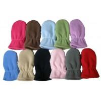 Dětské rukavičky, hladké palčáky s bavlnou uvnitř