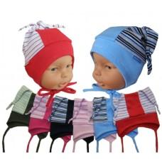 Dětská čepiče na uši, zavazovací