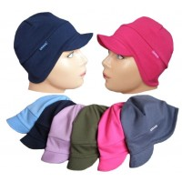 Dětská čepice klasik s kšiltem